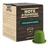 Note D'Espresso Preparato Solubile per Bevanda al Gusto di Cioccolato e Menta - 280 g (40 x 7 g)