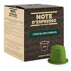 Note D'Espresso Preparato Solubile per Bevanda al Gusto di Cioccolato e Menta - 280 g (40 x 7 g) Esclusivamente…