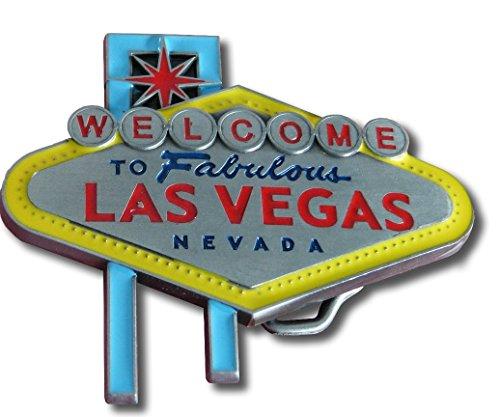 Las Vegas Western Gürtelschnalle | Las Vegas Belt Buckle | Las Vegas Deko |