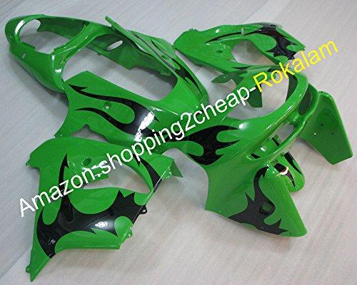 Hot Sales, pour Kawasaki Carénages Ninja Zx9r 1998-1999 ZX 9R 98-99 Zx-9r Sports Vélo personnalité Motif moto Carénage kit