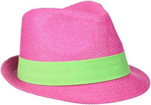Myrtle Beach Hut Street Style, Fuchsia/Lime-Green, L/XL, MB6564 fulg -