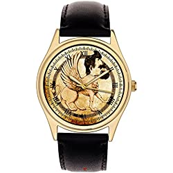 "Friedrich Nietzsche Symbolic Gryphon Art ""Thus Spake Zarathustra"" Philosopher Art Collectible Wrist Watch"