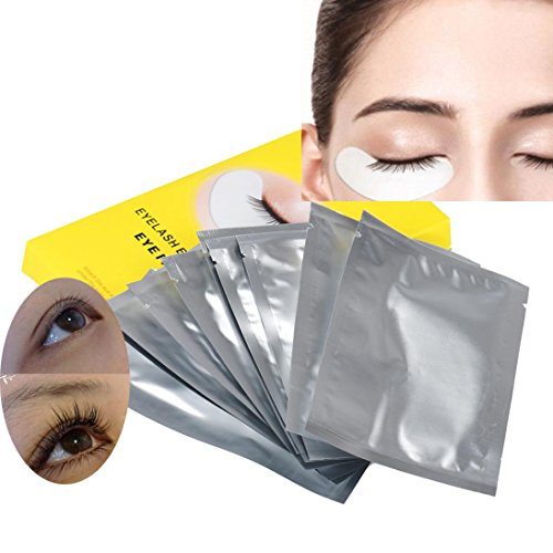 kingko® 10pair Lint Under gratuit Eye Gel Collagène Patches Pads Pour Lash Cils Extension