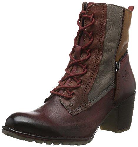 bugatti Damen V52351g Kurzschaft Stiefel Rot (rot 300)