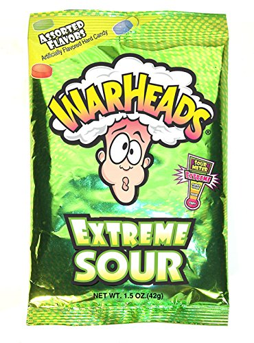 Warheads Extreme Sour Candy 1 oz (28g)
