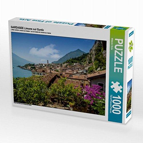 Preisvergleich Produktbild GARDASEE Limone sul Garda 1000 Teile Puzzle quer: Blick auf die bezaubernde Altstadt (CALVENDO Orte)