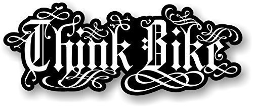 bw-think-bike-safety-slogan-design-with-energy-drink-style-motif-vinyl-car-bike-sticker-decal-190x75