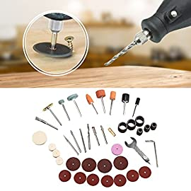 Electric Grinder Kit,40PCS/Set Electric Grinder Parts Hardware Tools Grinding Polishing Accessories