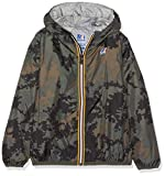 K-Way Claude Graphic, Manteau Garçon, Verde (Dark Camouflage 900), 116