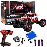 #6: 2.4Ghz 1/18 Scale Remote Control 4 Wheel Drive Rock Crawler Toy Car