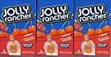 Jolly Rancher CHERRY Singles to Go 3 Boxes of 6 Packets Each by The Hershey Company