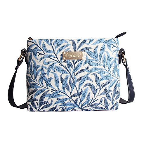 Signare sac de messager sac porté-croisé d'épaule tapisserie mode femme Branche de saule