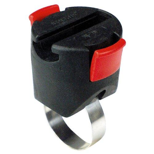 KLICKFix Lenkertasche Light Bag Mini Grau/Rot