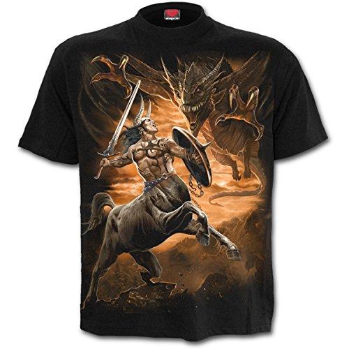 Spiral Centaur Slayer T-Shirt schwarz Schwarz