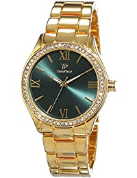 Time Piece Damen-Armbanduhr Fashion Analog Quarz Edelstahl beschichtet TPLA-90963-83M