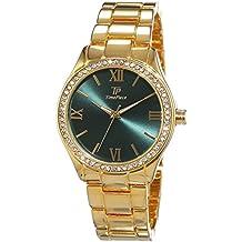 Reloj de pulsera para mujer-reloj analógico de cuarzo Fashion chapado en acero inoxidable TPLA-90963-83M