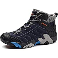 SINOES Zapatos de Senderismo al Aire Libre Zapatos de Escalada Zapatillas de montaña Ideal para Deportes Caminar Caza atlético Adecuado para Damas de Hombres