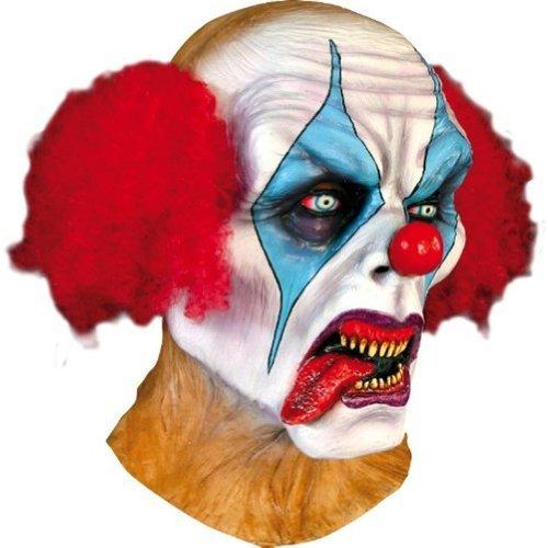 Psycho Clown Maske Erwachsene für Halloween