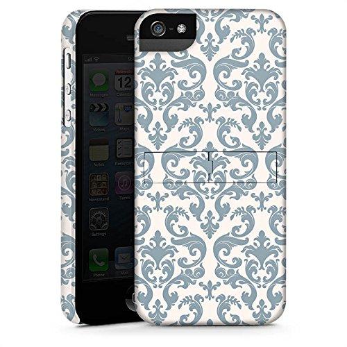 Apple iPhone 4 Housse Étui Silicone Coque Protection Rétro Motif Motif CasStandup blanc