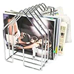 Chrome Wirehouse Magazine Holder by Authentics Invotis