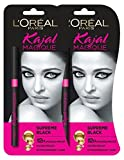 #7: L'oreal Paris Kajal Magique 0,35g (Black) Pack of 2