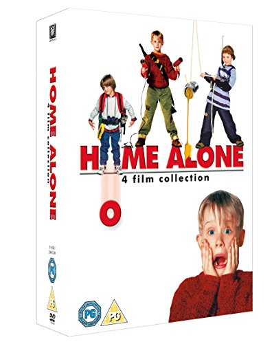 Home Alone Collection 1-4 [4 DVDs] [UK Import] (Home Alone 1 2 3 4)