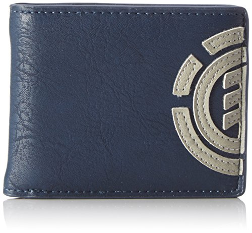 Element Herren Daily Wallet Geldbörse, Blau (Eclipse Navy), 1x7x9 cm