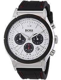 Hugo Boss Herren-Armbanduhr Analog Quarz Silikon 1512499