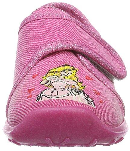 Rohde Mädchen Boogy Flache Hausschuhe Pink (Pink 46)