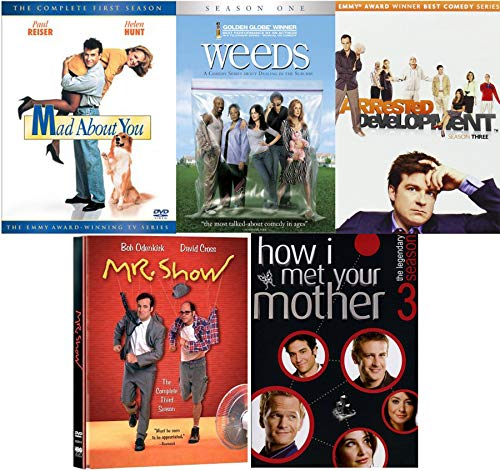 Mr. Mad 90's 5 TV Shows Weeds / Arrested Development / How I met Your Mother / Mad About You + Mr Show DVD Awesomeness Season Funny Set - 5 Dvd Tv-season Mad