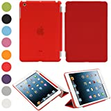 Besmall Funda Carcasa Proteccion Smart Cover per Apple iPad mini 1 A1432 A1454 A1455