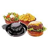 Perfect Bacon formine per pancetta ciotole stampo per bacon microonde cucina MWS