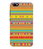 PrintVisa Designer Back Case Cover for Huawei Honor 4X :: Huawei Glory Play 4X (Multicolors Pattern)