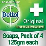 Dettol Original Soap, 125g (Pack Of 4)