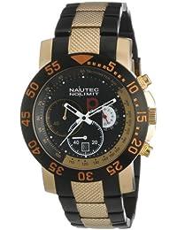 Nautec No Limit Herren-Armbanduhr P-Racer RP QZ/IPRGIPBKRG