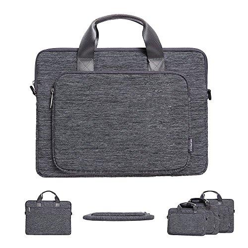 Acxeon Business Laptop Messenger Sling Umhängetasche Notebook Laptop Anzug Stoff Multifunktionale Fall Tragetasche für MacBook Pro / Air Surface pro 3 / 4 Notebook (12,6 '' ~ 15,4 '')