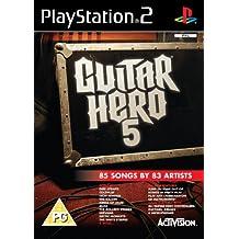 Guitar Hero 5 - Game Only (PS2) [Importación Inglesa]