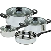 Magefesa Deliss Stainless Steel 7 Piece Cookware Set by Magefesa