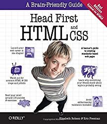 Head First HTML and CSS: A Learner's Guide to Creating Standards-Based Web Pages by Elisabeth Robson (2012-09-08)