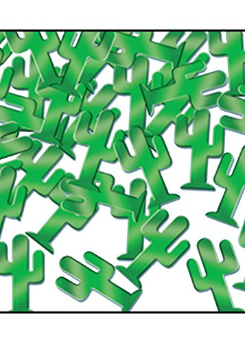 Westliche Partei Grüne Kaktus Konfetti Streuseln
