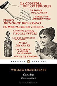 Comedias par William Shakespeare