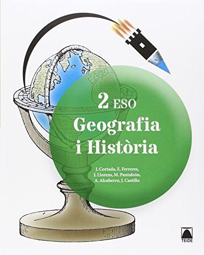 Portada del libro Geografia i història 2n ESO - ed. 2016 - 9788430791484