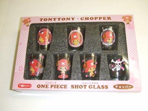 One Piece Shot-Glas gesetzt 7P Chopper (Japan Import / Das Paket und das Handbuch werden in Japanisch)