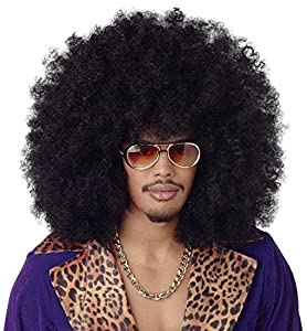 Gifts 4 All Occasions Limited SHATCHI-1139 Shatchi-Jumbo - Peluca de pelo grande afro, color negro