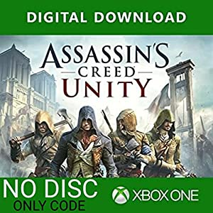 Assassin's Creed Unity: Xbox One (XBOX STORE DOWNLOAD CODE – NO CD/DVD)