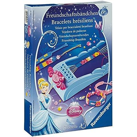 Princesas Disney - Tejedora de pulseras, diseño Cenicienta (Ravensburger 18281 7)