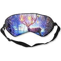 Eye Mask Eyeshade Reindeer Christmas Fantasy Sleep Mask Blindfold Eyepatch Adjustable Head Strap preisvergleich bei billige-tabletten.eu