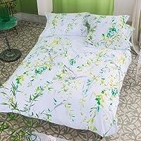 Designers Guild D-68-3785101-101032 DG Fogli, di cotone, 240 x 300 centimetri, legno di acacia - Tessuto Fogli Cotone