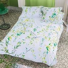 Designers Guild de 68-3785101-205424 DG-Plaza de la funda de almohada de algodón satén Acacia Madera 64 x 64 cm