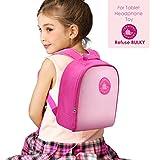 Termichy Kinderrucksack Babyrucksack fur Amazon Fire HD 8 Kids Edition-Tablet und kopfhörer, Kindergartenrucksack Toddler backpack für 1-6 Jahre Mädchen Kleinkind (Rosa)